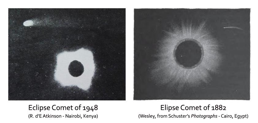 eclipse comets