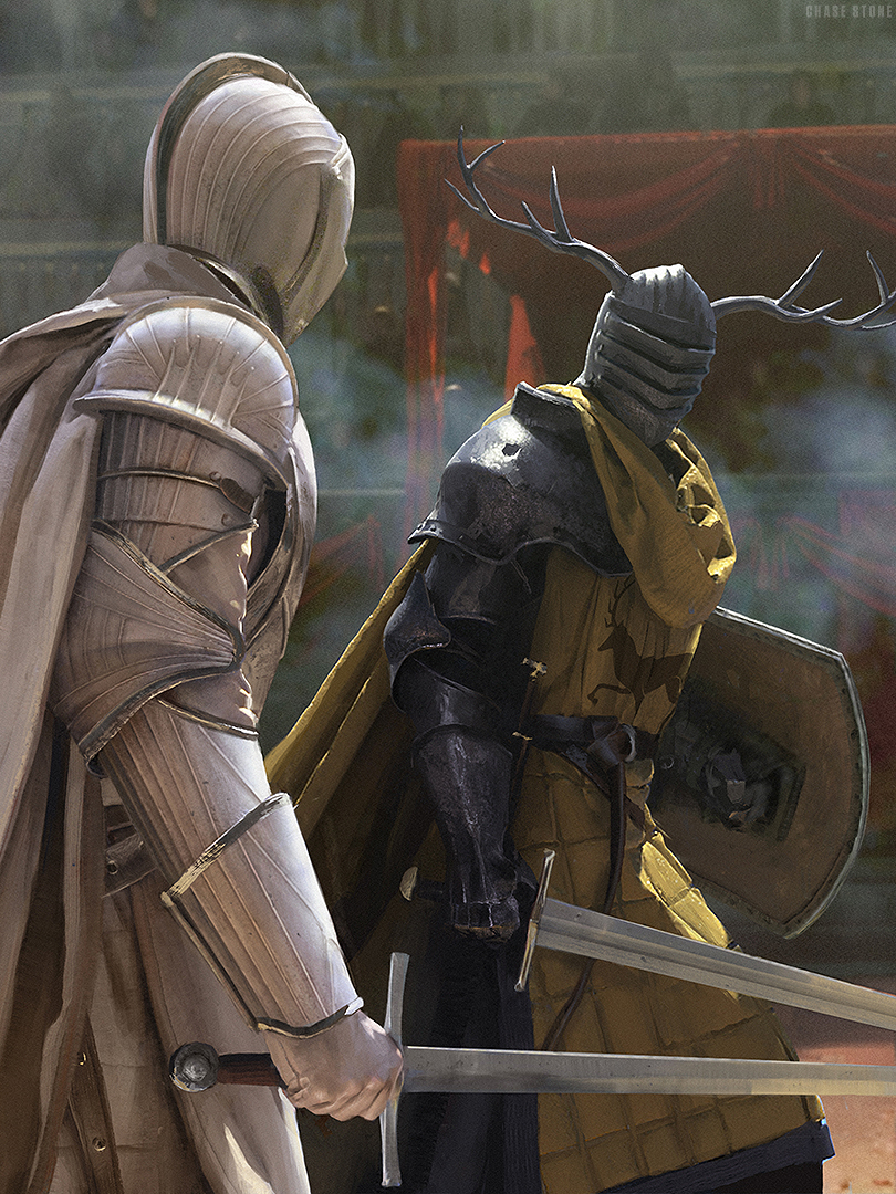 Ser Duncan the Tall vs. Lyonel Baratheon, by Chase Stone