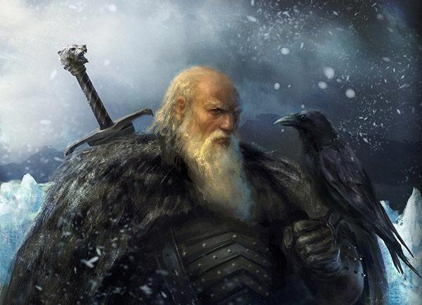 Lord Commander Mormont byAJ Manzanedo
