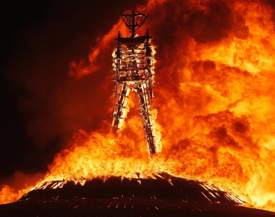 The Burning Man Festival, Blackrock City, Nevada