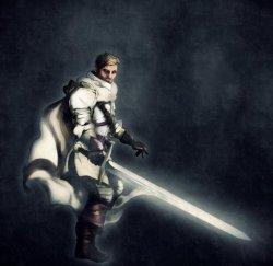 Ser Arthur Dayne by Mike Hallstein